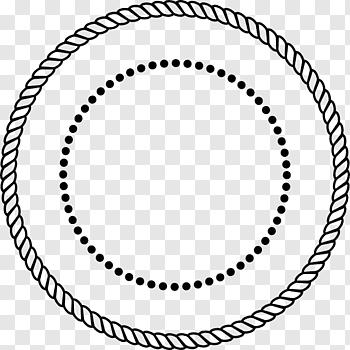Black Rope Illustration Rope Circle Tribal Arrow Free Png Floral Wreaths Illustration Rope Frame Wreath Illustration