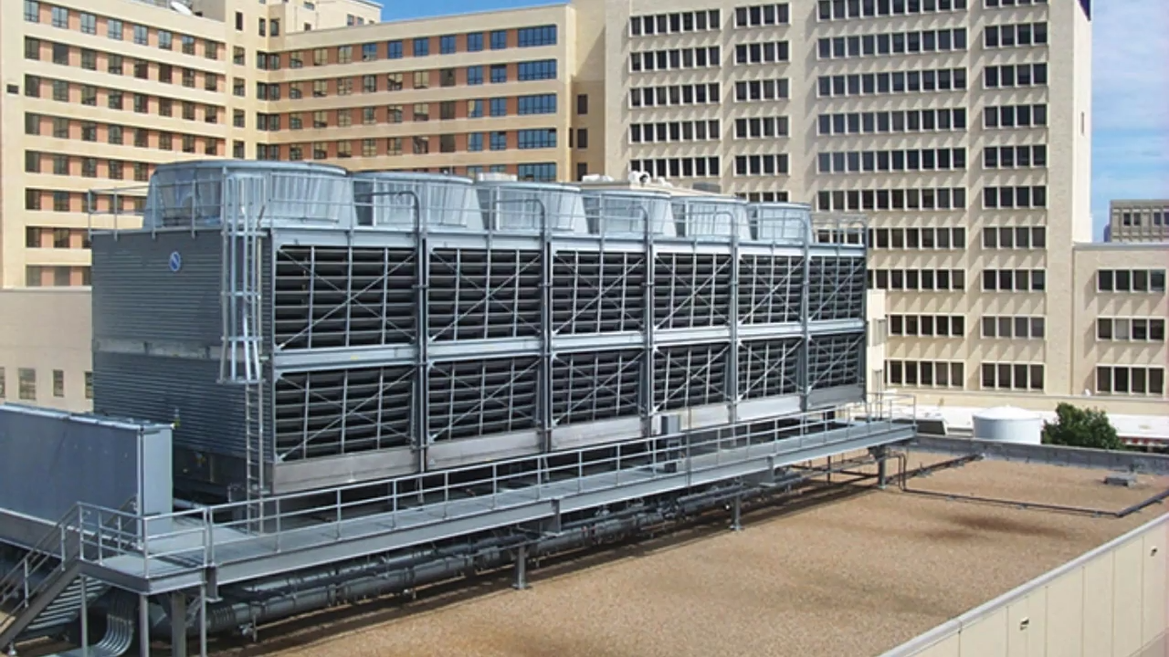 An Evaporative Cooling Tower Also Commonly Referred To As Swamp