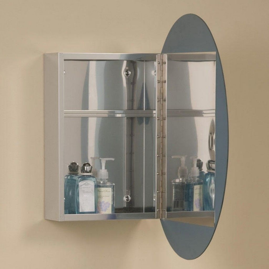 Mirror Bathroom Cabinet Oval Mirror Bathroom Cabinet Mirrors Pinterest Mirror
