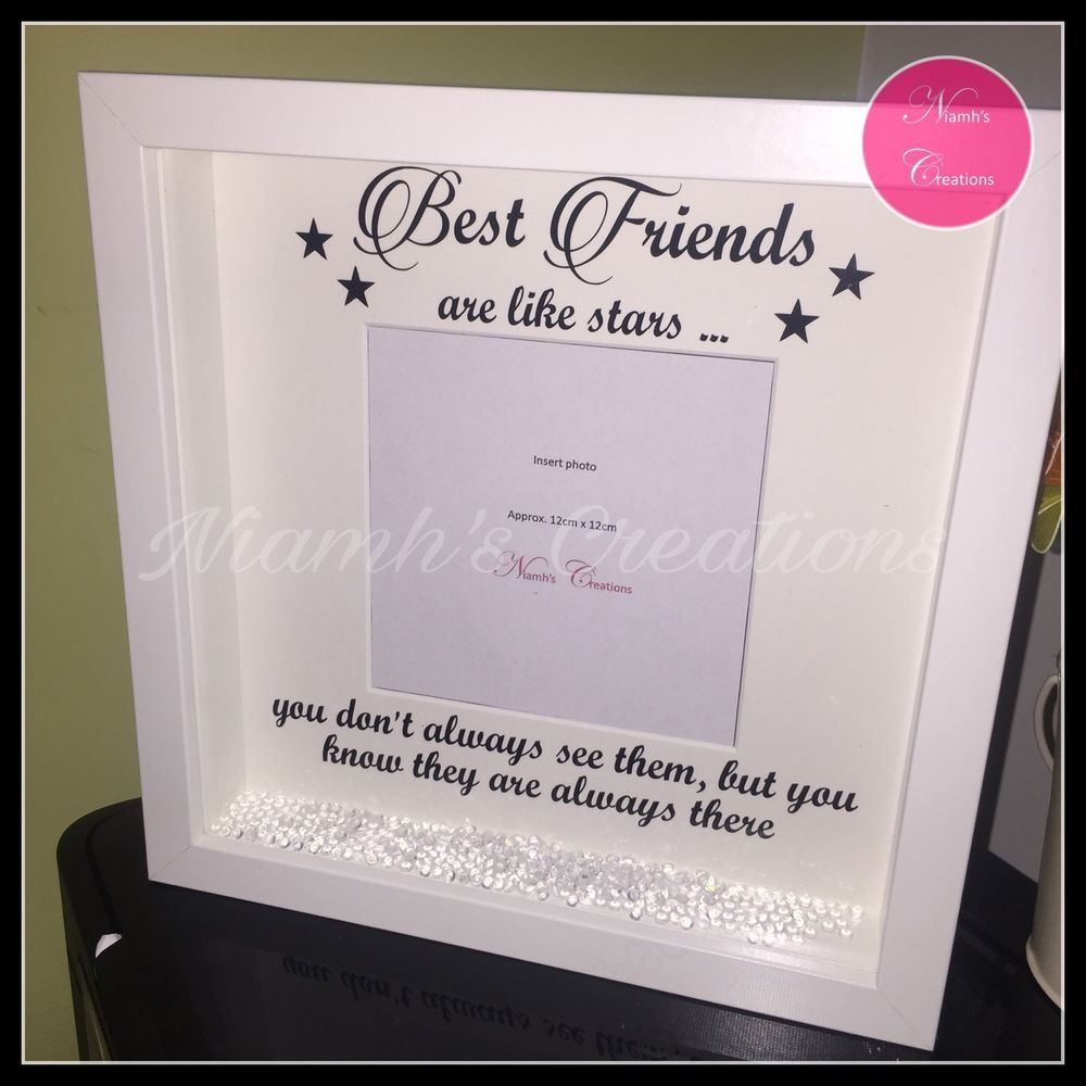 Best Friends Photo Frame Good Friends Personalised Frame | bedroom ...