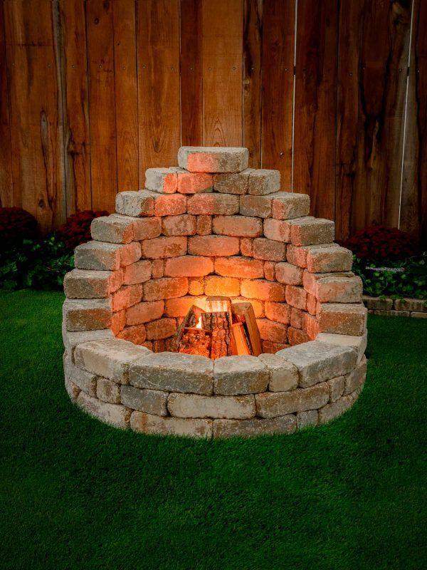 Photo of Einfach zu bauende Feuerstelle