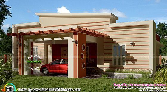 House · 1800 Square Feet Modern Single ...