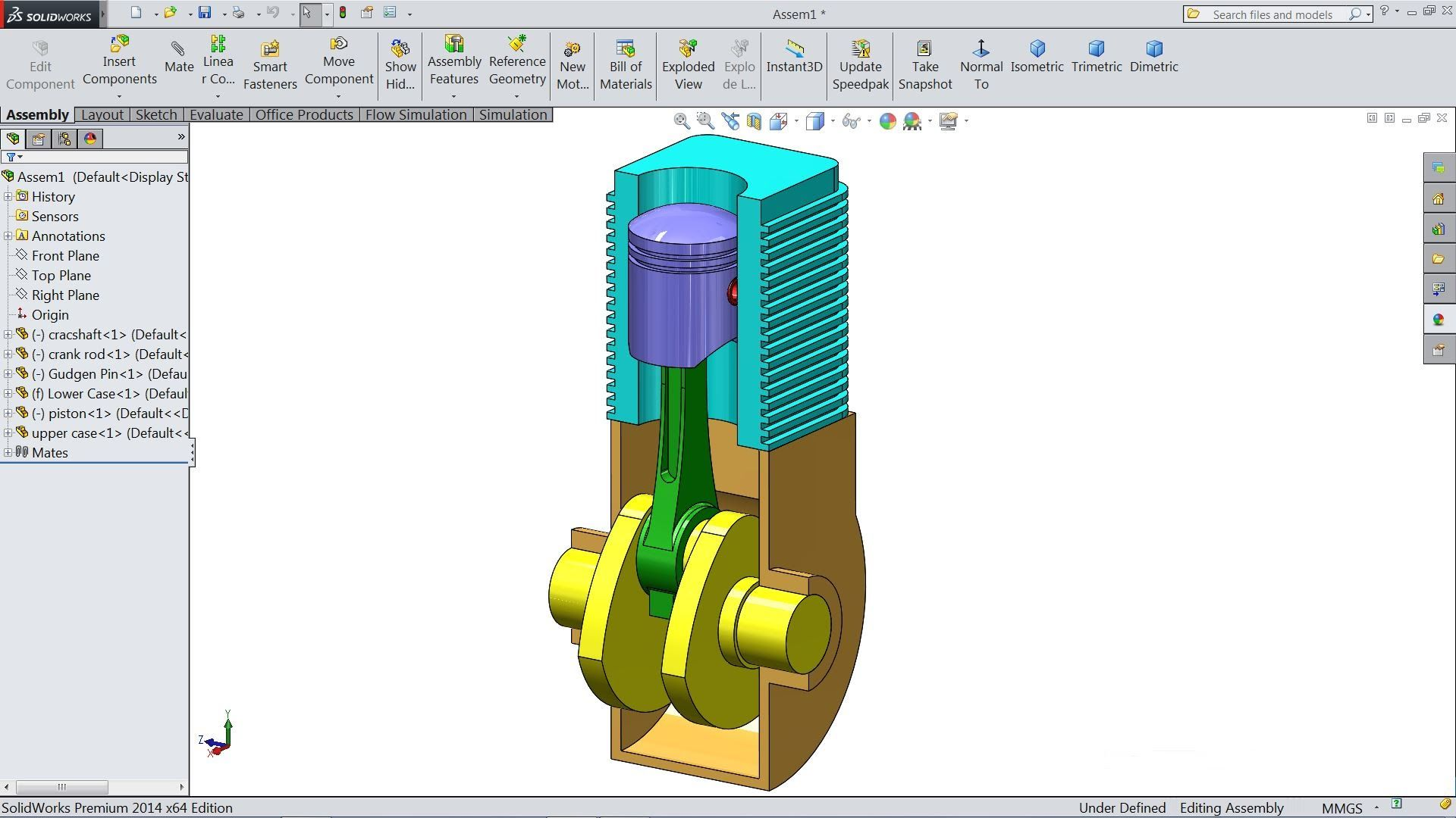 Image Result For How To Draw Engine In Solid Works Solidworks Tutorial Solidworks Engineering