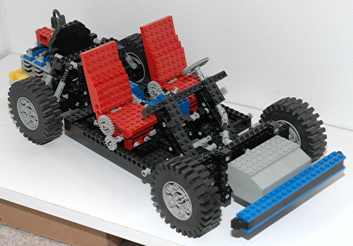 lego technic set 8860 auto chassis 1980 lego pinterest lego technic lego and legos. Black Bedroom Furniture Sets. Home Design Ideas