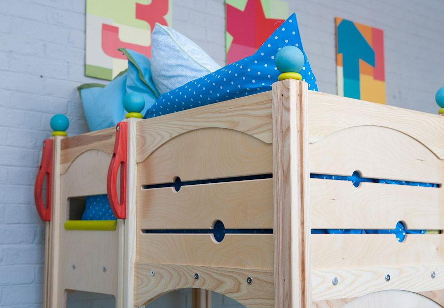 Rhapsody Bed 6 Indoor Playsets and Playbeds | CedarWorks