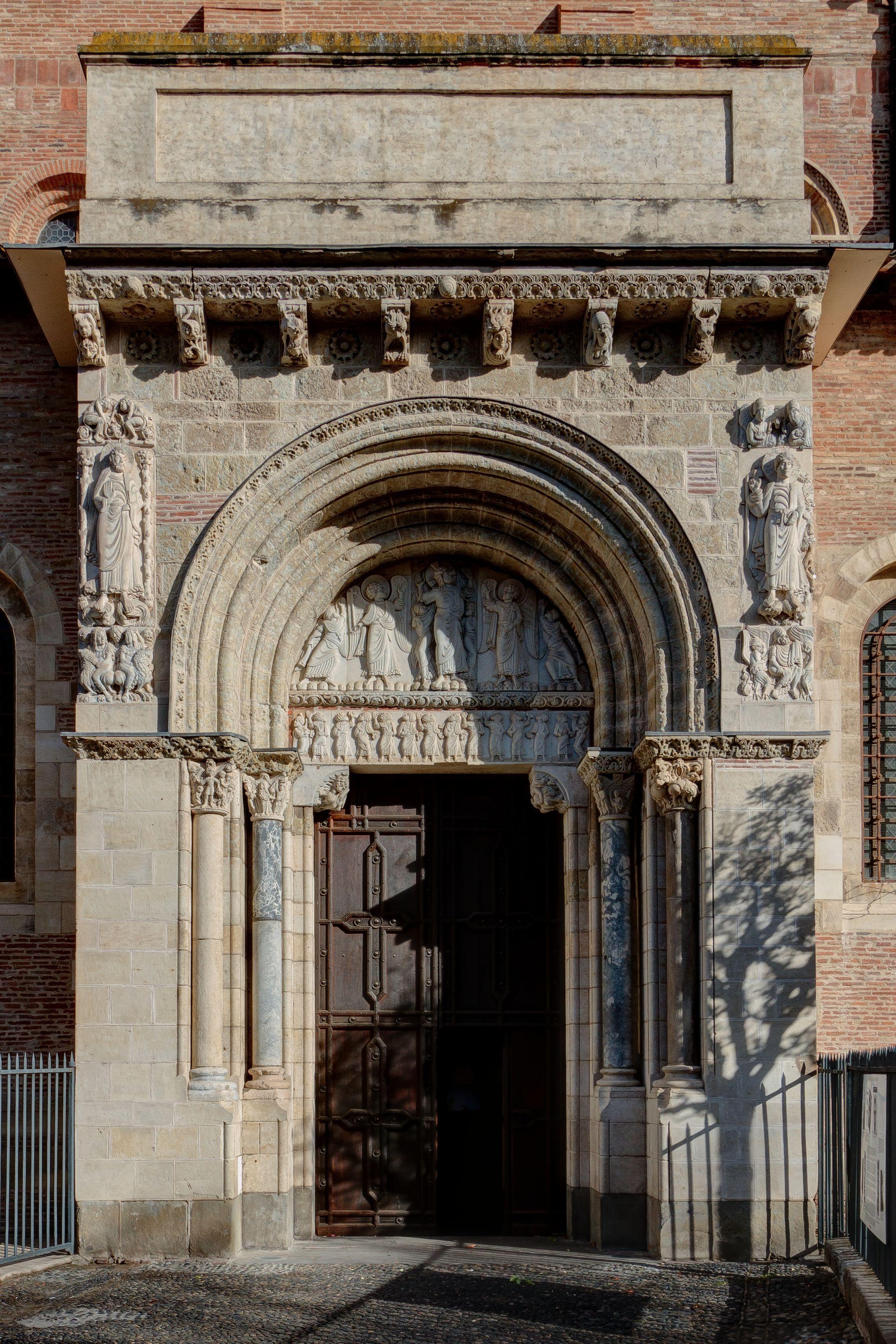 Romanesque Architecture France Port Miégeville At St