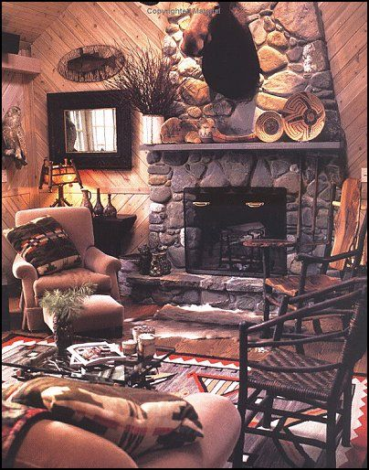 hunting lodge decor cabin decor log cabin rustic style decorating camping in - Lodge Decor