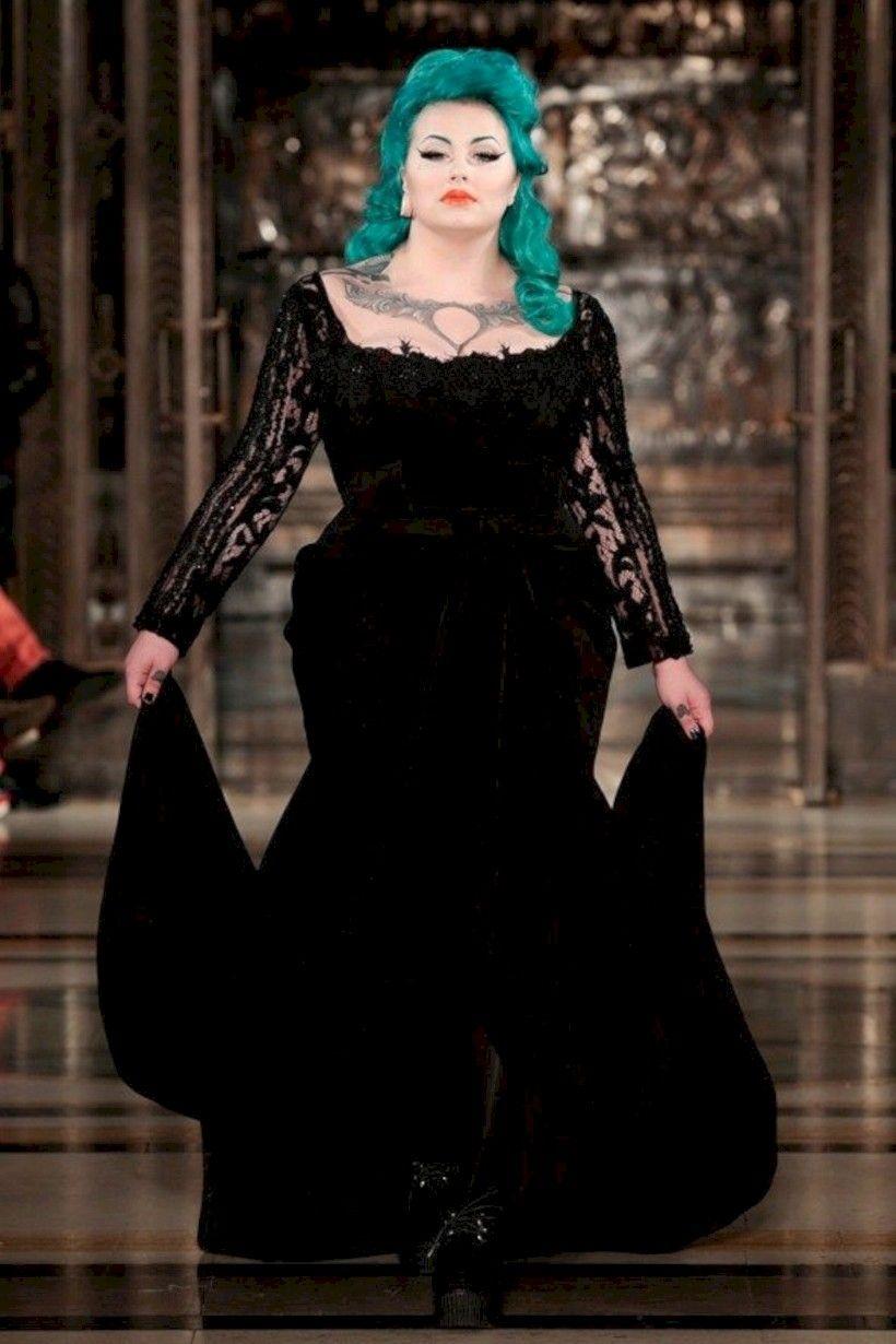 inspiring plus size halloween wedding dress ideas