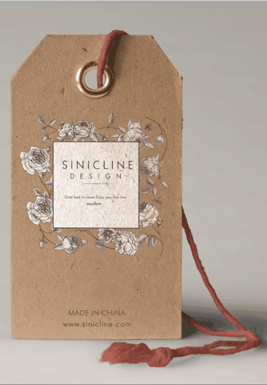 sinicline new hang tag design for june hangtag graphic design