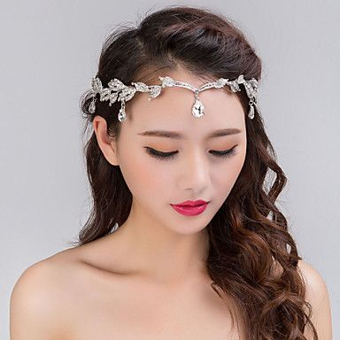 Women s Silver Crystal Rhinestone Headband Forehead Hair Jewelry for  Wedding Party 4934270 2017 – £11.42 14a8c5e58d0