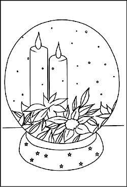 malvorlage kerze | ausmalbilder zum ausdrucken, ausmalbilder weihnachten