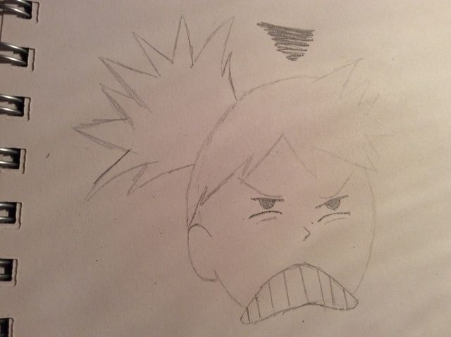 Line Drawing Cartoon Face : How to draw an angry cartoon face recipe and