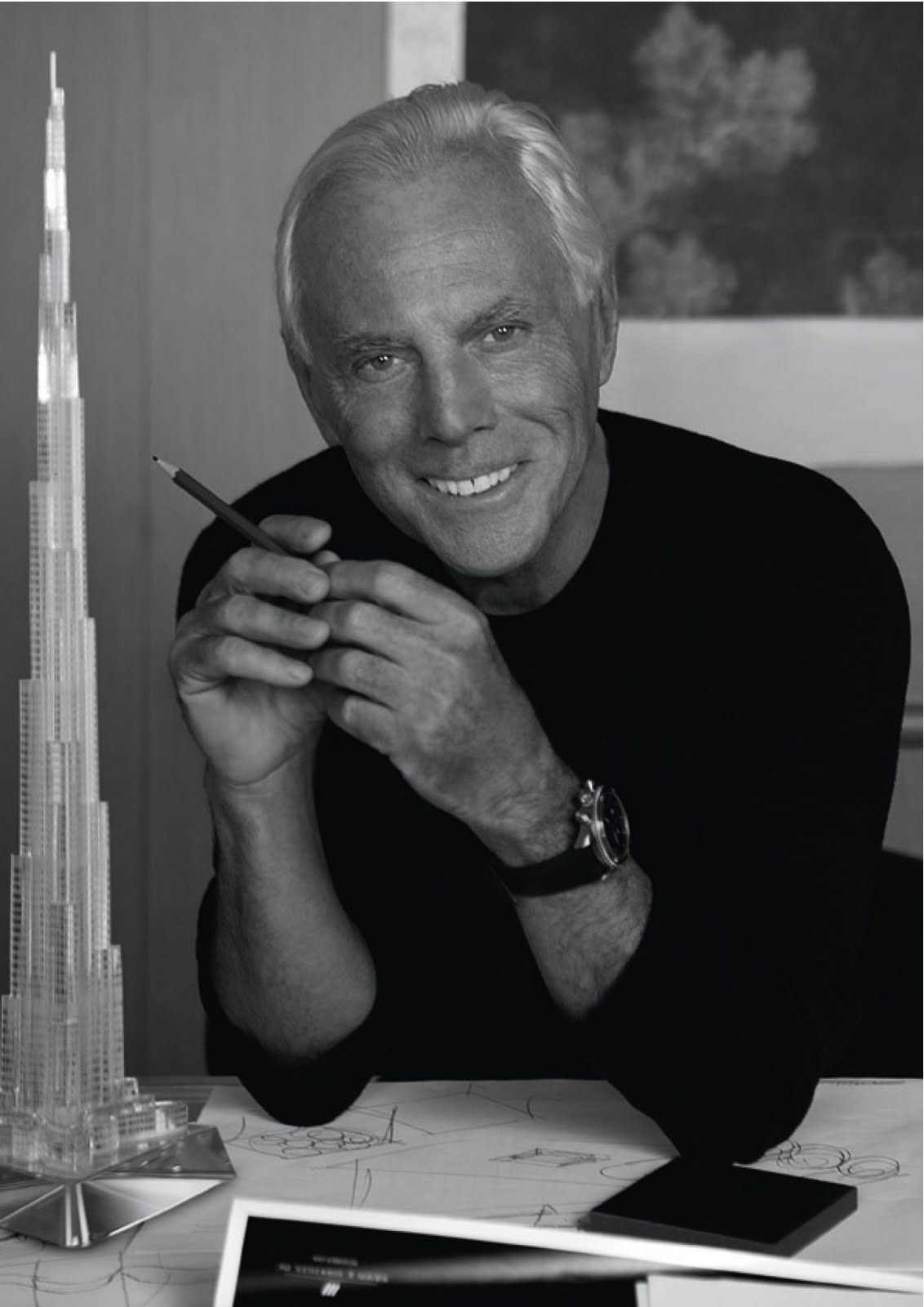 569a2572c46c1 Italian fashion designer Giorgio Armani has been ruling fashion world with  graceful outfits