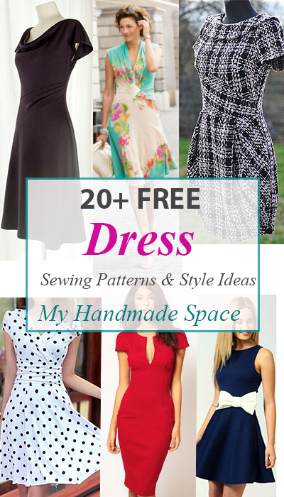 Free Dress Patterns -   17 DIY Clothes For Women free pattern