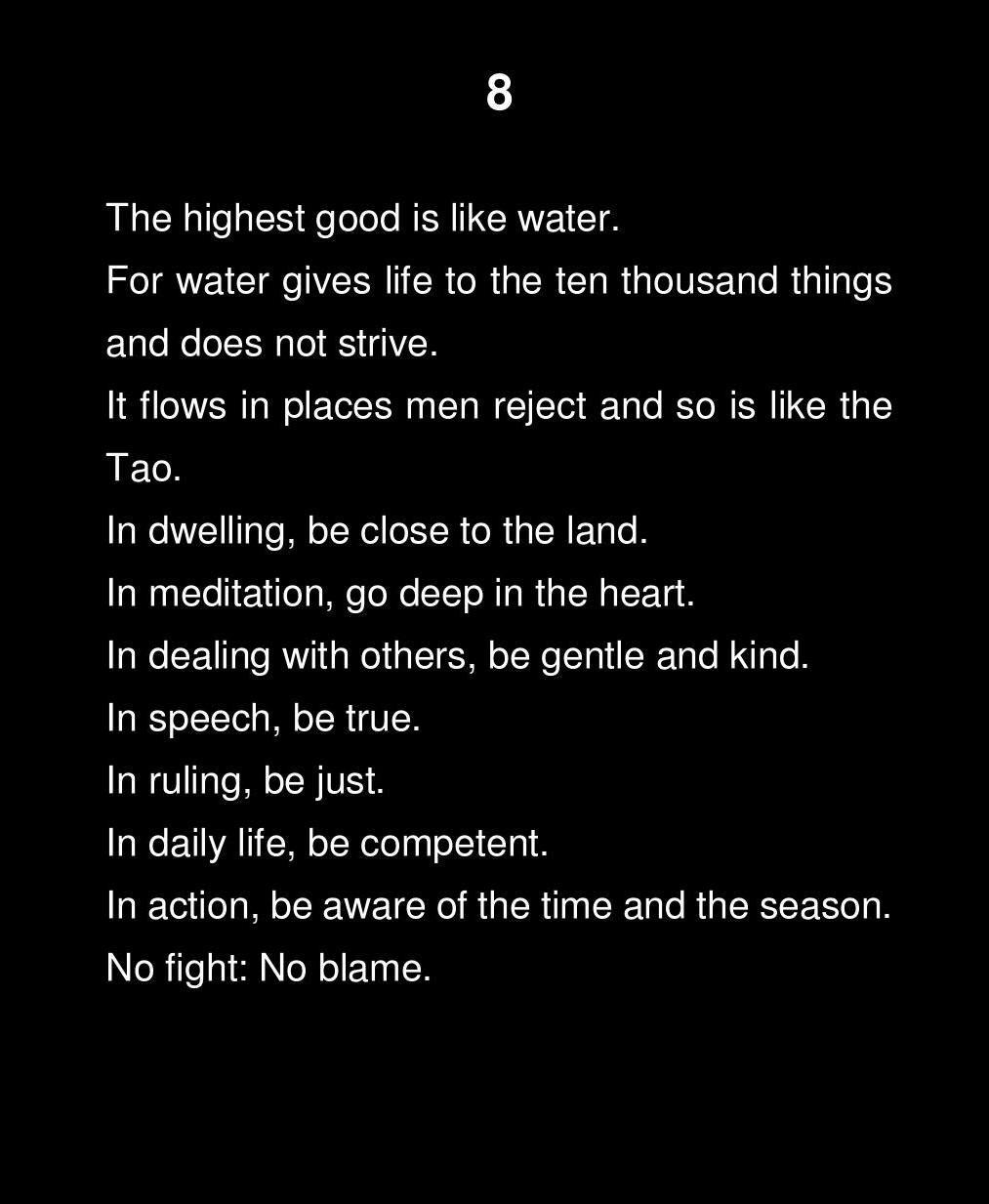 tao te king idézetek The Tao Te Ching   Lao Tsu   Feng   Jane English