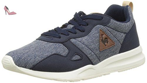 Le Coq Sportif LCS R900 GS Craft, Sneakers Basses Mixte Enfant, Bleu (Dress Blue/Reglisse), 38 EU