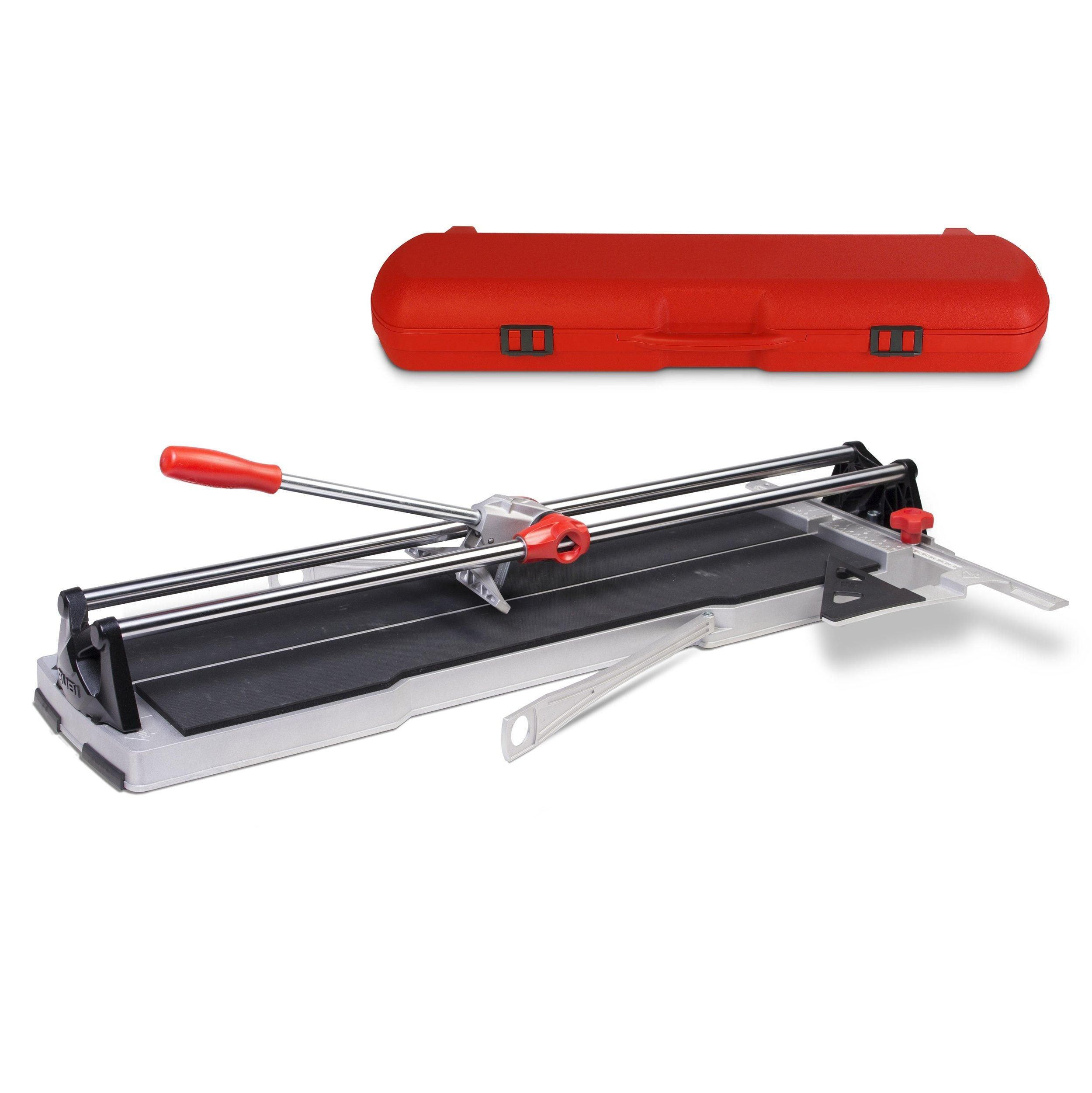Rubi Speed 92 N Tile Cutter With Carrying Case Grey Floor Decor In 2020 Tile Cutter Types Of Ceramics Flooring Tools