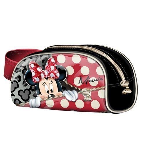 Portatodo Minnie rojo y negro