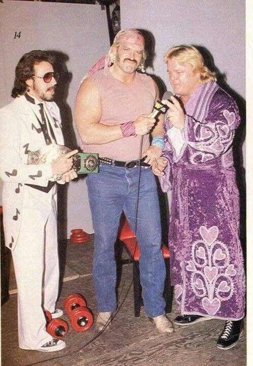 Mouth Of The South Jimmy Hart With Jesse Ventura And Greg Valentine  SJ