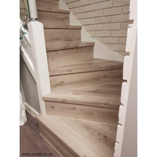 MAMPERLAN   Laminated Stair Pannels, Bullnose, Stairs, Laminate, Home,  Decor,