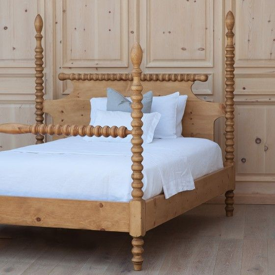 Custom Made Bradshaw Kirchofer Gwendoline Spindle Bed :: Sweet Elle Handmade Furniture - http://amzn.to/2iwpdj4