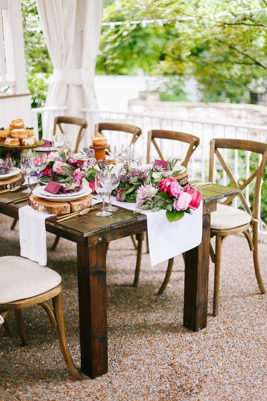Wedding Trends We Love Cross Back Chairs Cj S Off The Square Wedding Rentals Nashville Wedding Planner Wedding Reception Design