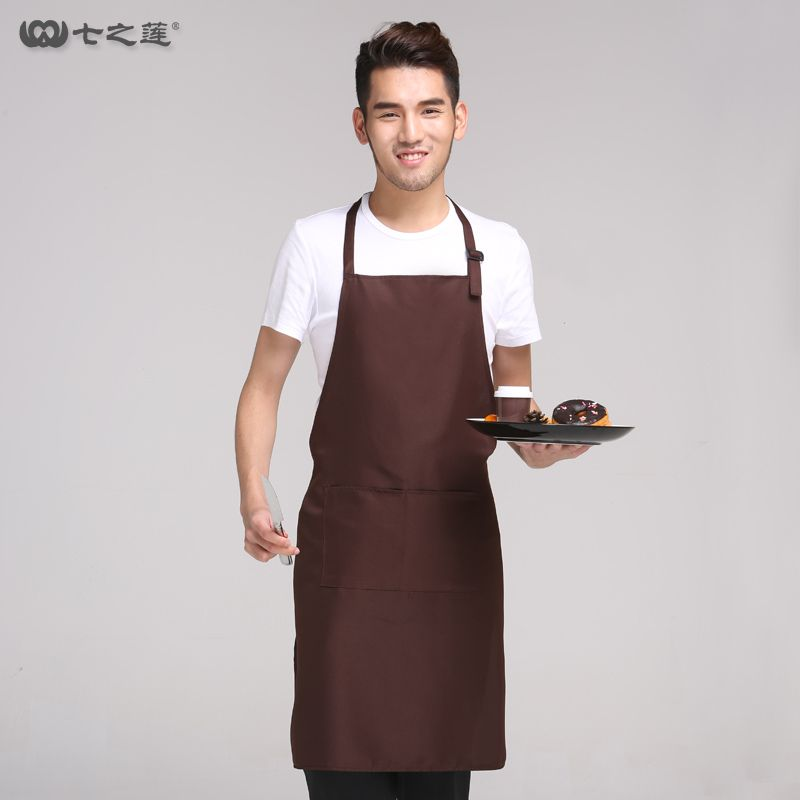 Restaurant Kitchen Aprons new men apron home furnishing waterproof kitchen apron long style