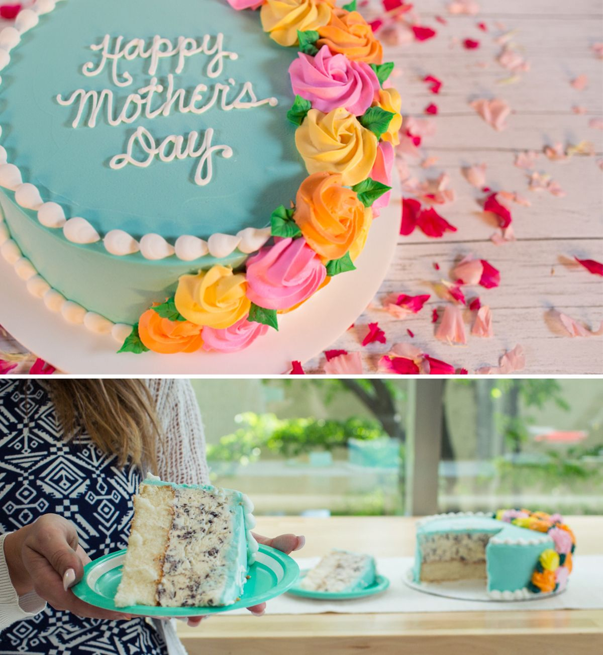 This Mother S Day Celebrate Mom With Our New Elegant Rosette Cake