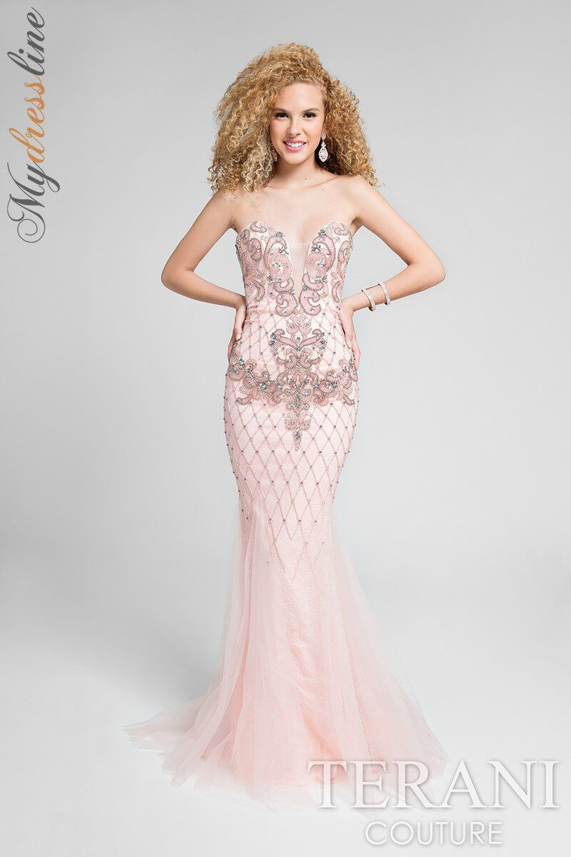 Nice Great Terani Couture 1711P2590 Evening Dress ~LOWEST PRICE ...