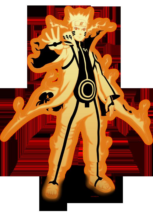 Naruto Kurama Mode Render