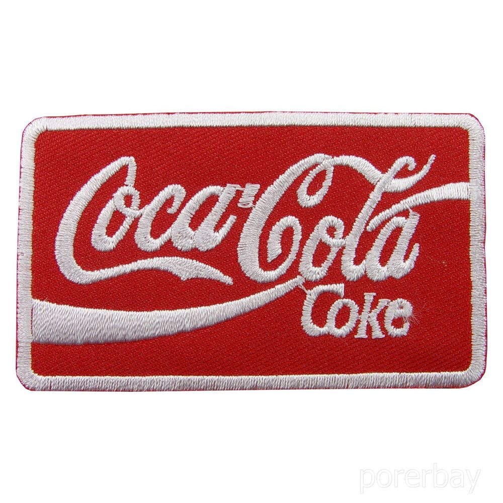 J2 Iron on Patch:Coca cola