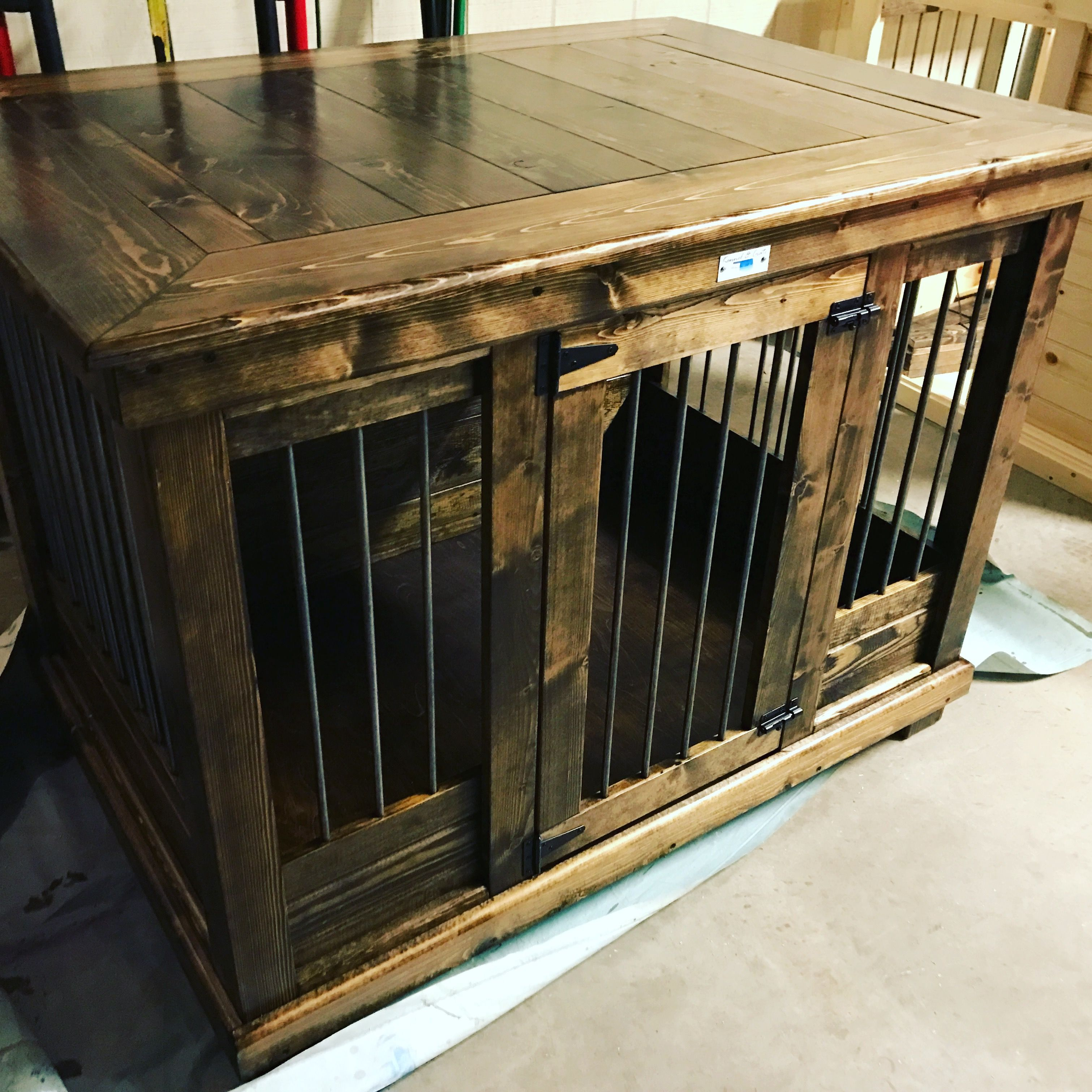 Wooden Dog Crate Furniture
