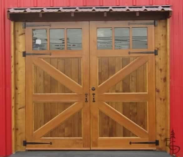Carriage Doors W Overhang Garage Pinterest Carriage Doors