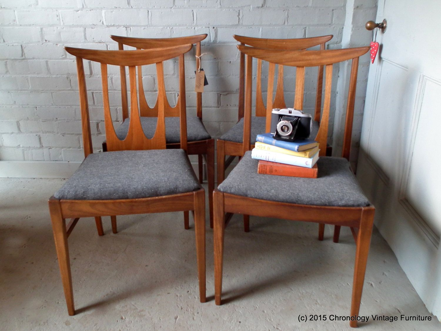 1960s Style Furniture mid century set of 4 g plan 1960s 1970s solid teak dining chairs