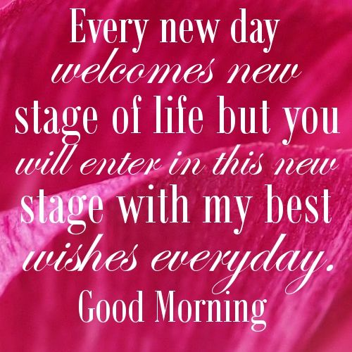 Amazing Best Wishes For A New Day Message   Every New Day Welcomes New Stage Of Life  But You Will Enter In This New Stage With My Best Wishes Everyd. Regarding Best Wishes In Life