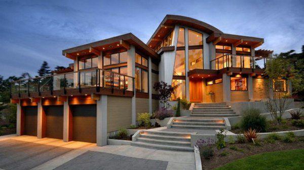 Les maisons contemporaines - fonctionnalité maximale et design ...