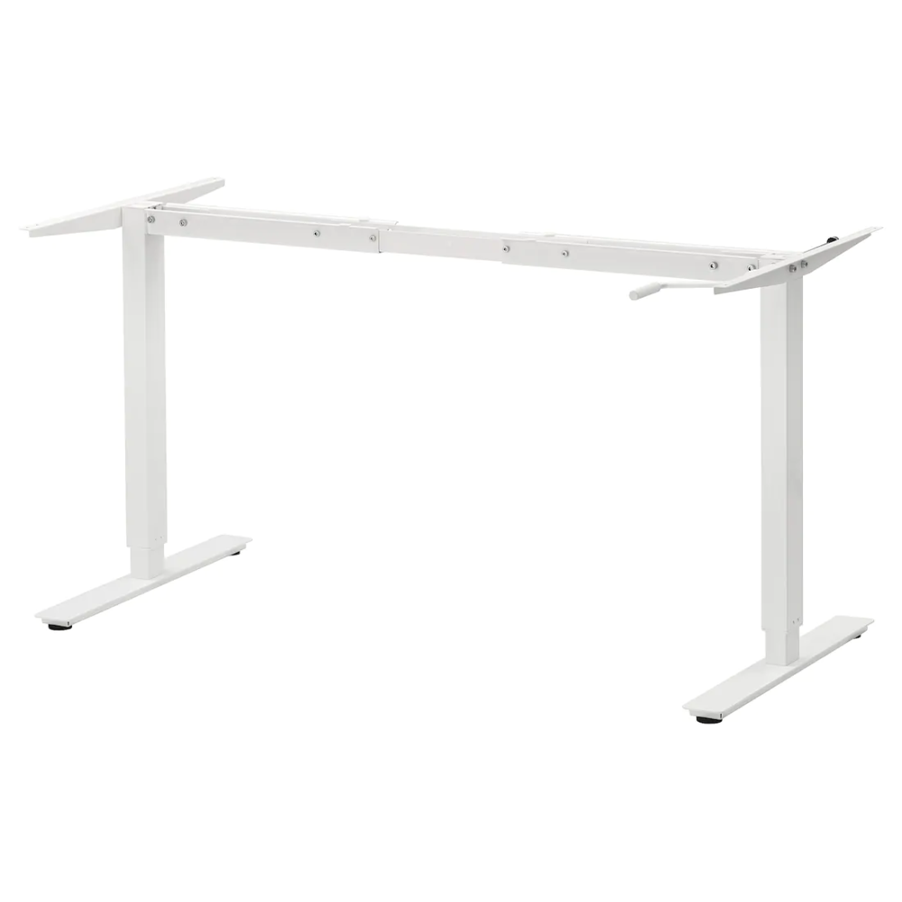 Skarsta Underframe Sit Stand F Table Top White Ikea In 2020 Ikea Table Top New Furniture