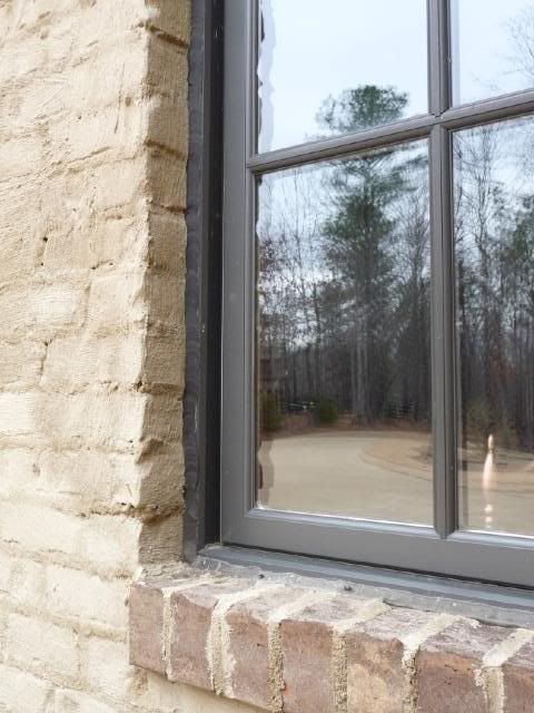 Casement Windows With Brick Mould Building A Home Forum Gardenweb House Exterior Casement Windows Brick Molding