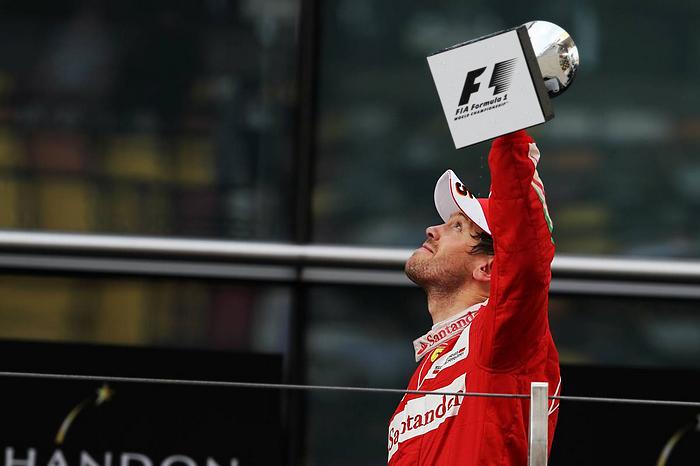 China 2016 - Sebastian Vettel - 2nd place
