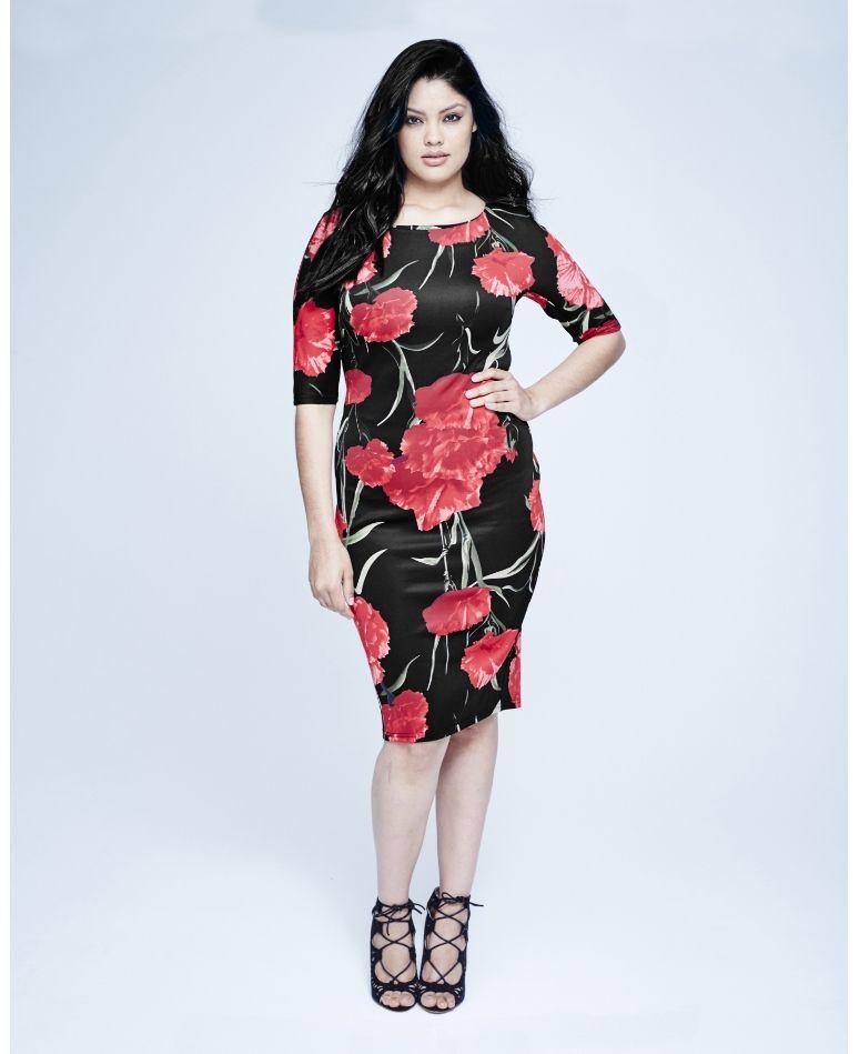 Crochet Lace Midi Dress | Lace bodycon midi dress, Dresses