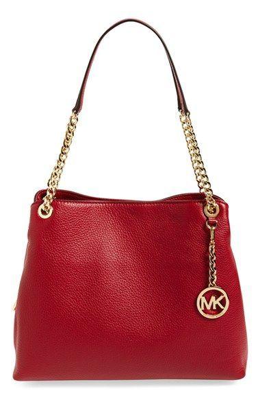 MICHAEL Michael Kors  Jet Set Chain  Leather Shoulder Bag ... bd392124af3