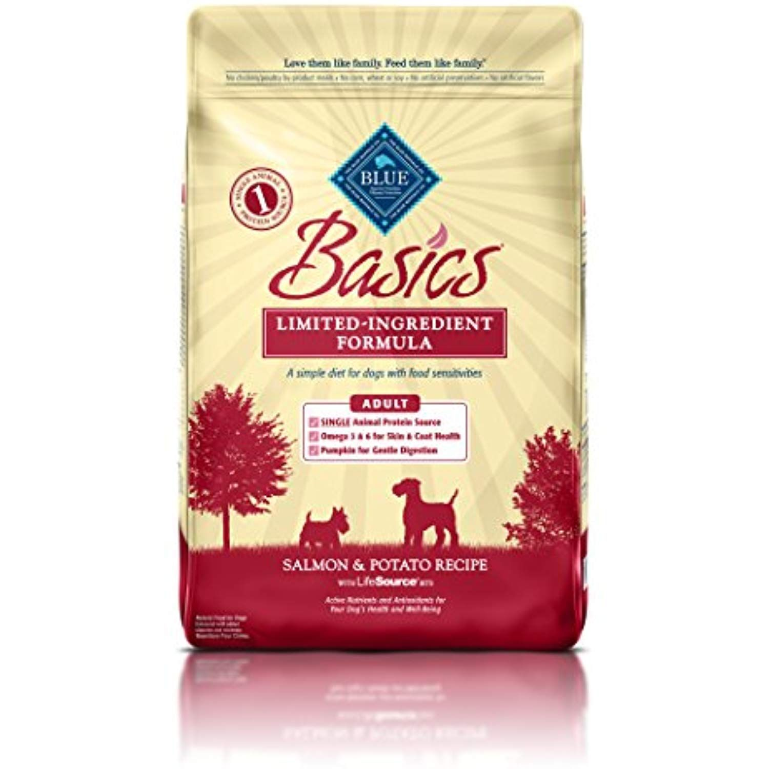 Blue Buffalo Basics Limited Ingredient Diet Natural Adult Dry Dog