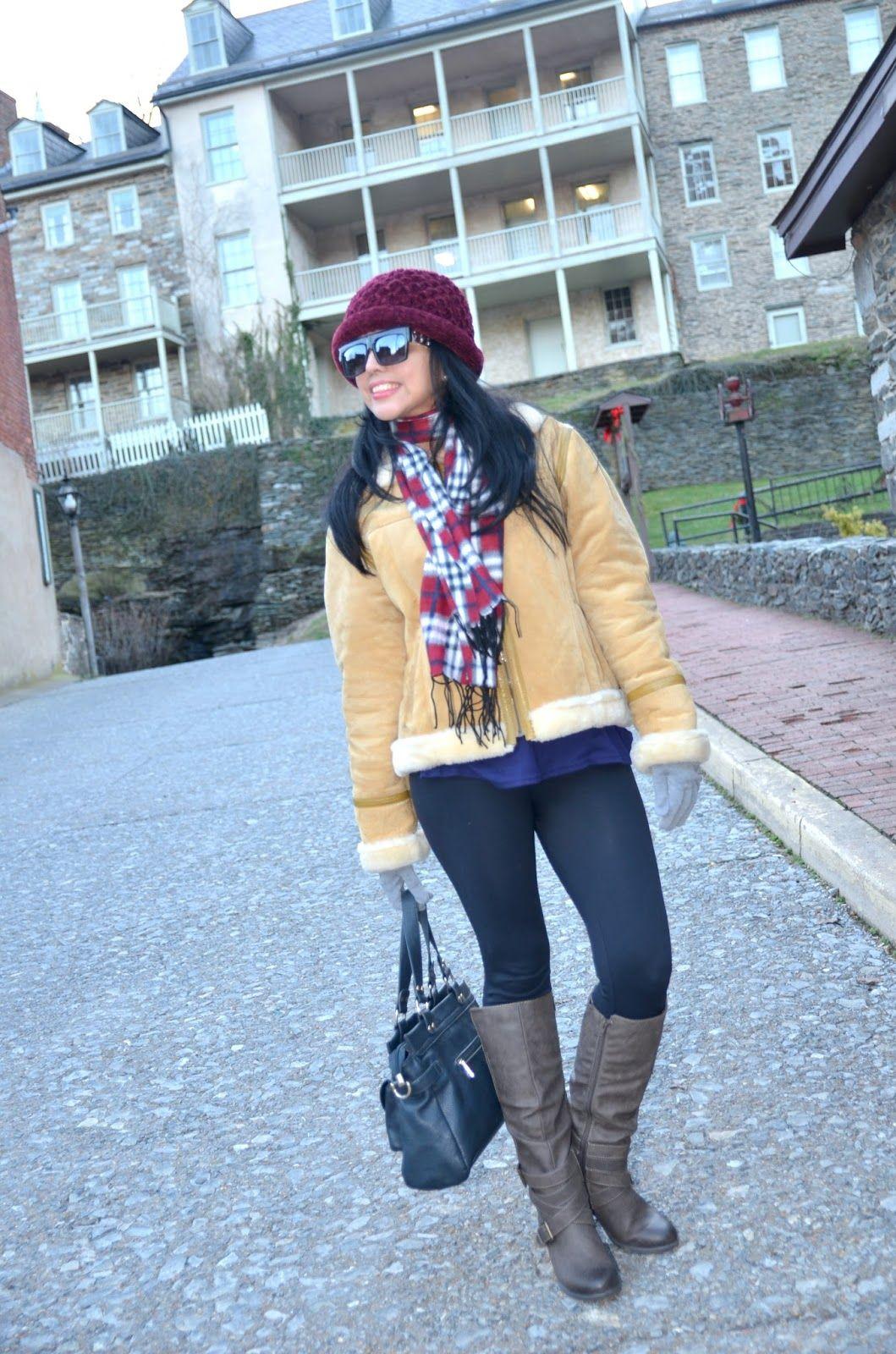 Cuadros, Leggings y un Sombrero #Moda #ootd #lookbook #style ...