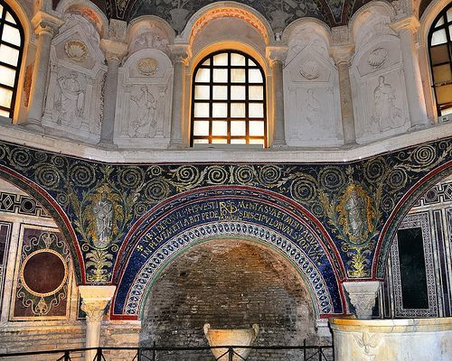 Ravenna bishop neon orthodox baptistery c500. awesome