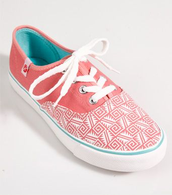 Zapatos de lona para mujer Zapatos de skate en rosa Puntera estampada en los zapatos casuales xnxIm
