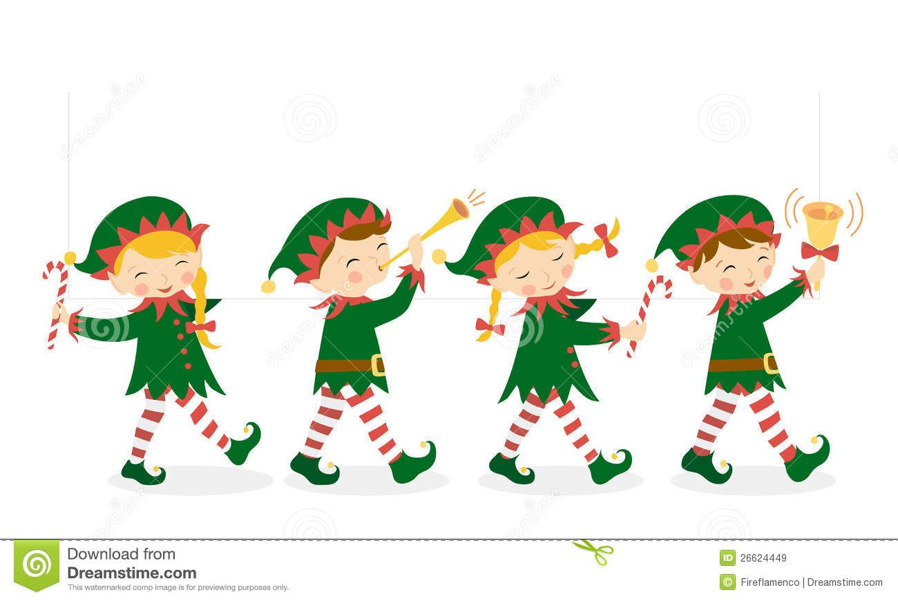 Christmas Elves Royalty Free Stock Images - Image: 26624449 ...
