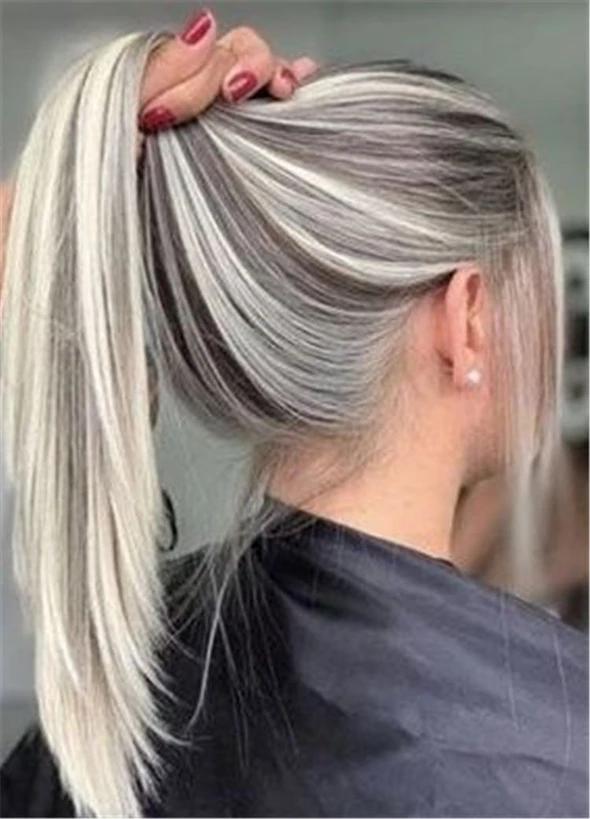 Blonde Wigs Black Women 613 Wig 613 Human Hair Weave Dark Brown With Blonde Highlights