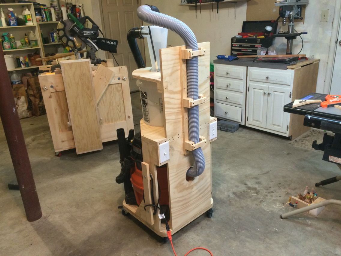 Dust Deputy Cart | Wood shop in 2019 | Shop dust collection, Dust