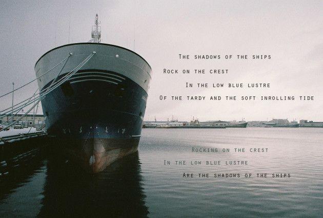 Sketch Poem By Carl Sandburg