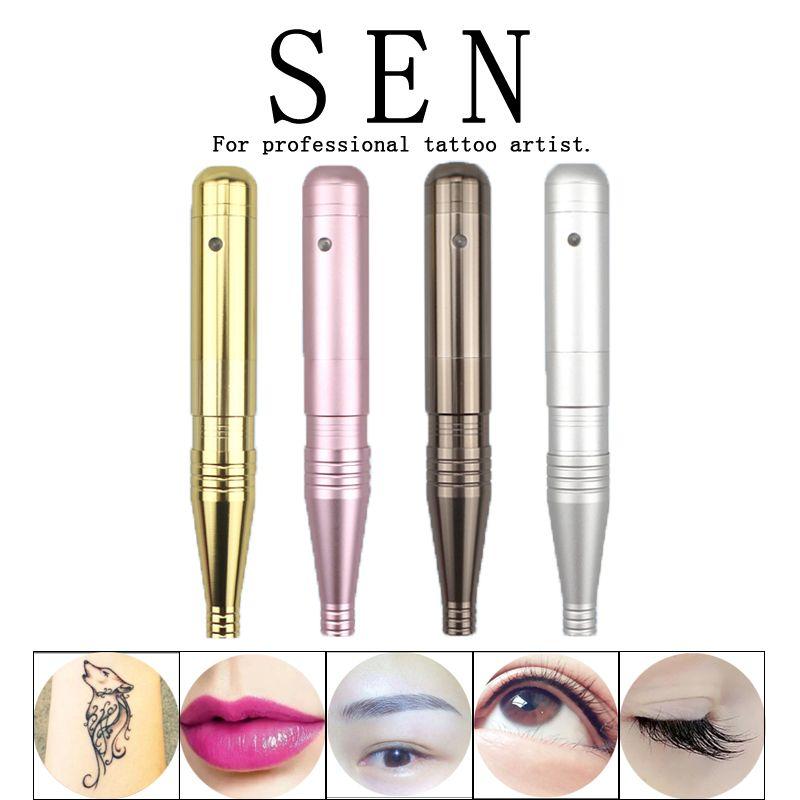 ed31c0c3a High quality Eyebrow Tattoo Machine Kit Permanent Makeup machine Pen 3D Pen  microblade Tatto Gun Set